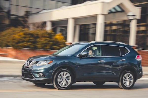 Nissan Rogue USA 2015. Picture courtesy carswall.net