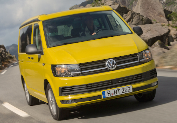 VW T6 Switzerland February 2016