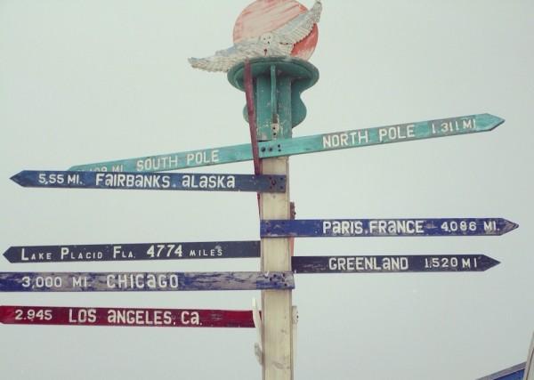 15. Barrow signpost