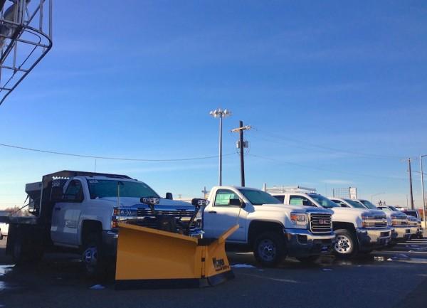 Chevrolet Silverado snowplow Anchorage