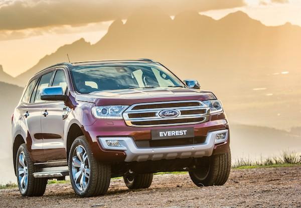 Ford Everest Philippines September 2015
