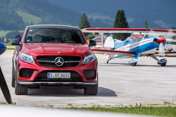 Mercedes GLE Coupe Europe September 2015