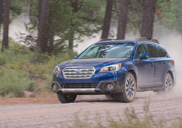 Subaru Outback USA April 2016. Picture courtesy caranddriver.com