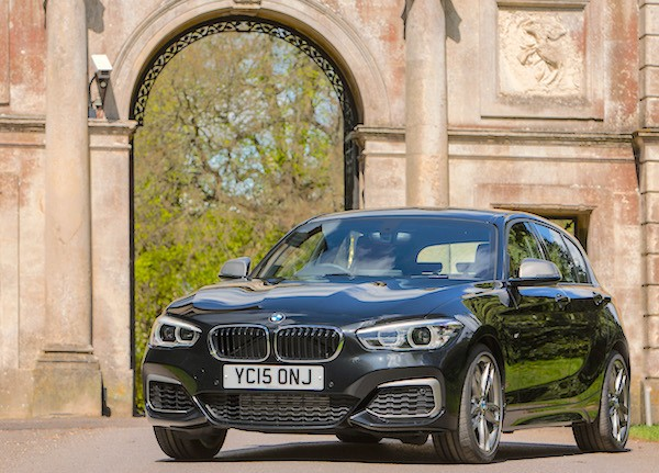 BMW 1 Series UK October 2015