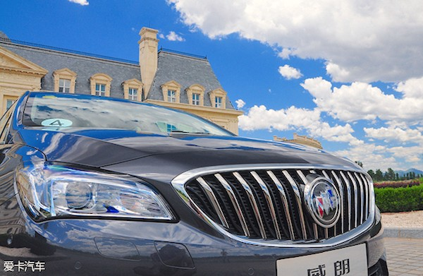 Buick Verano China October 2015. Picture courtesy xinhuanet.com