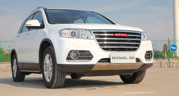 Haval H6 China October 2015