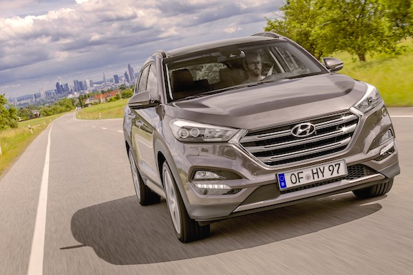 Hyundai Tucson Poland October 2015