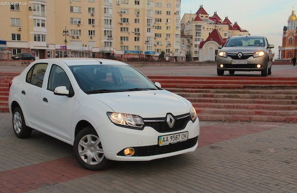 Renault Logan Ukraine October 2015. Picture couertesy autocentre.ua