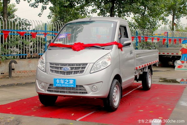 Sichuan Mini Truck China November 2016. Picture couertesy 360che.com