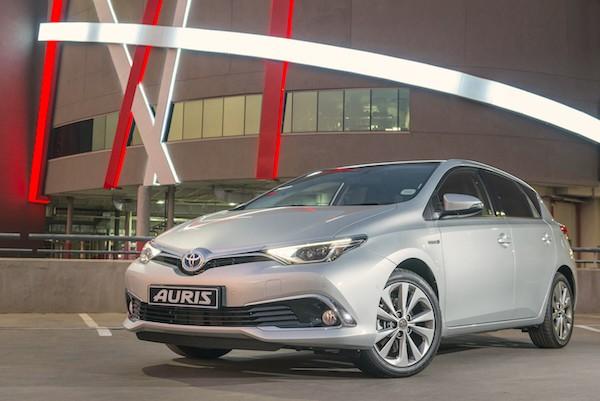Toyota Auris Spain July 2016
