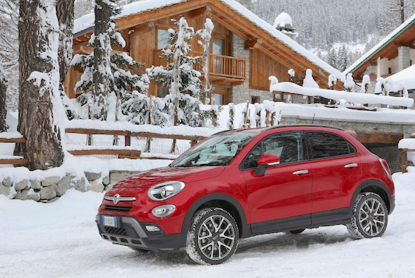 Fiat 500X Italy November 2015. Picture courtesy quattroruote.it