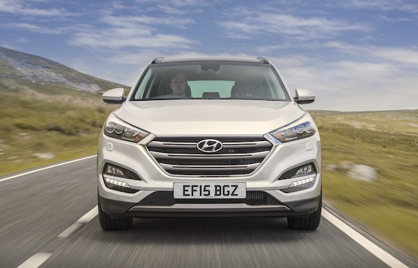 Hyundai Tucson Spain December 2015