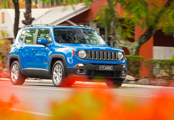 Jeep Renegade Brazil November 2015
