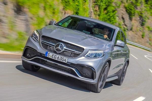 Mercedes GLE Romania 2016