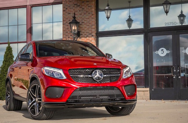 Mercedes GLE USA 2016. Picture courtesy caranddriver.com