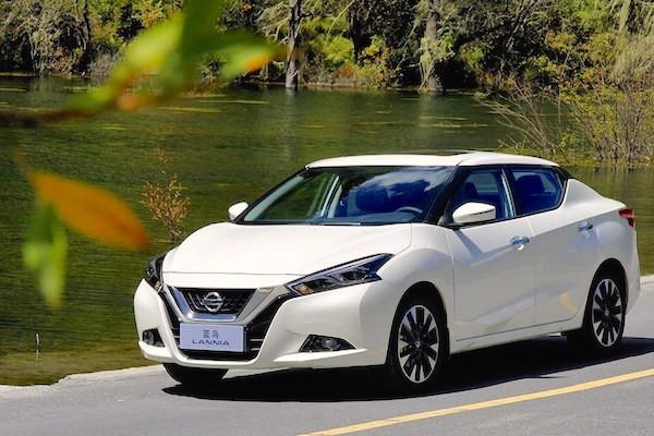 Nissan Lannia China November 2015. Picture courtesy xgo.com.cn