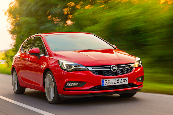 Opel Astra Croatia March 2016