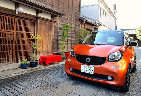 Smart Fortwo Japan November 2015. Picture courtesy response.jp