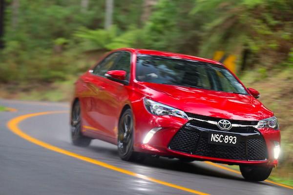 Toyota Camry Australia 2016