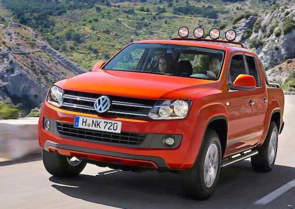 VW Amarok Argentina November 2015