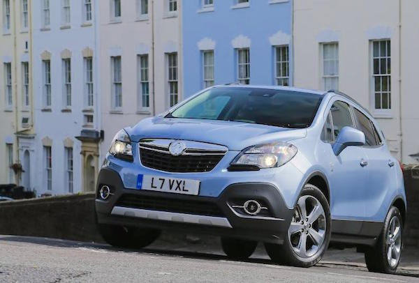 Vauxhall Mokka UK November 2015. Picture courtesy evo.co.uk