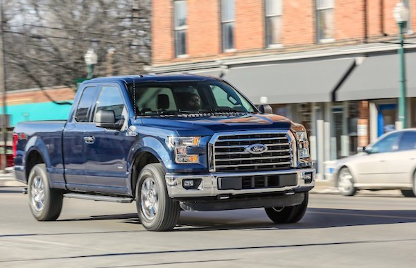 Ford F-Series USA 2015. Picture courtesy caranddriver.com