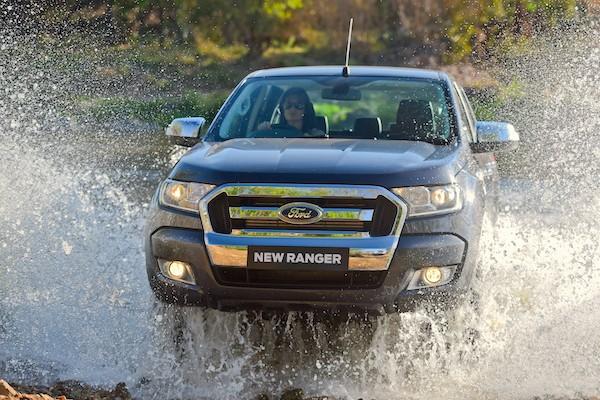 Ford Ranger Samoa 2015