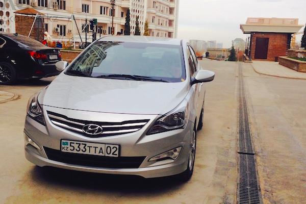Hyundai Accent Kazakhstan 2015. Picture courtesy kcdn.kz