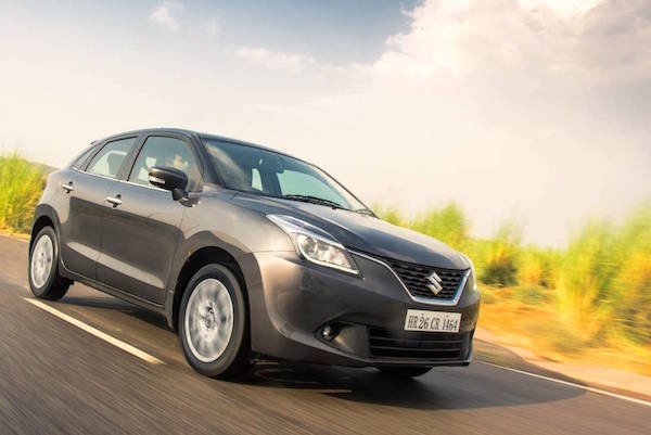 Maruti Baleno India November 2016. Picture courtesy motorbeam.com