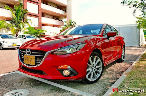 Mazda 3 Colombia 2015. Picture courtesy f1latam.com:autos