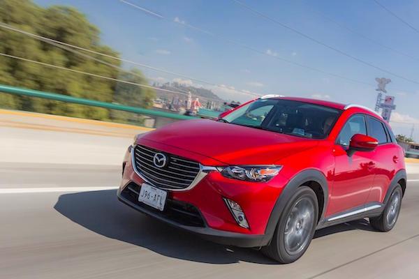Mazda CX-3 Mexico 2015. Picture courtesy autocosmos.com