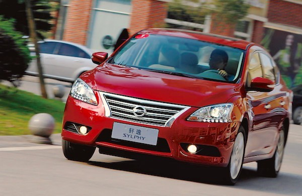 Nissan Sylphy China December 2015. Picture courtesy bitauto.com