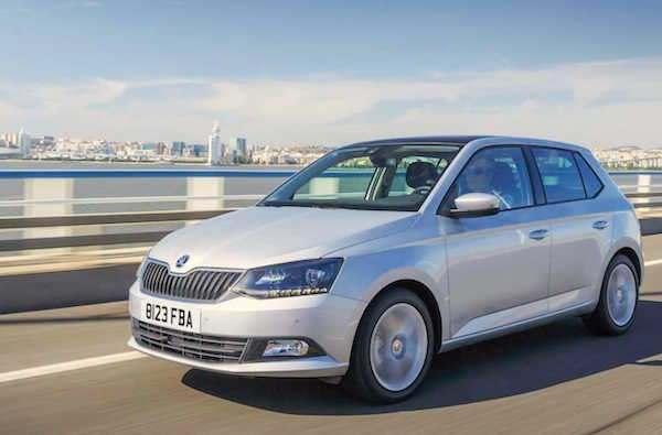 Skoda Fabia Slovakia 2016. Picture carkeys.co.uk