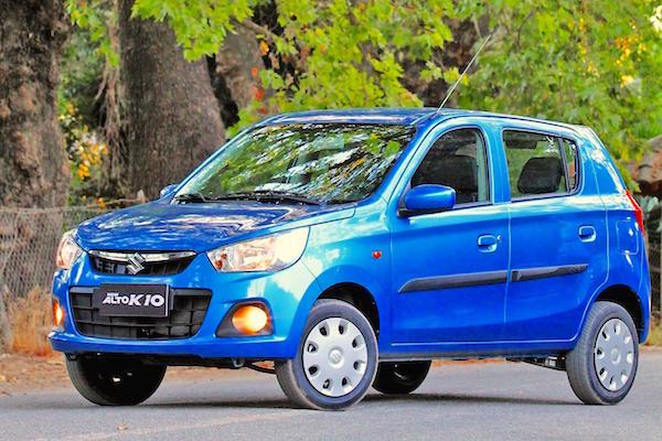 Suzuki Alto K10 Uruguay 2015. Picture courtesy autocosmos.com