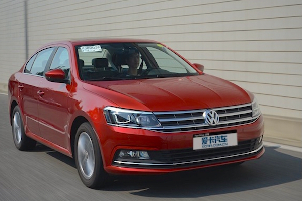 VW Lavida China 2015. Picture courtesy xcar.com.cn