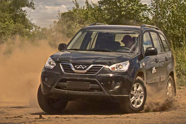 Chery Tiggo China 2011. Picture courtesy of autocosmos.com