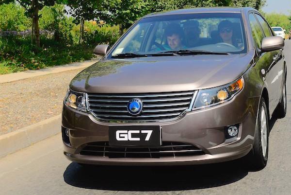 Geely GC7 Oman 2015. Picture courtesy autocosmos.com