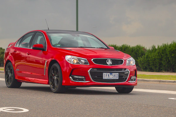 Holden Commodore Australia January 2016. Picture courtesy caradvice.com.au