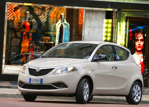 Lancia Ypsilon Italy March 2016