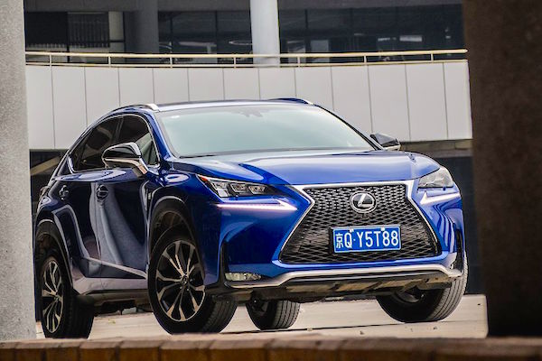 Lexus NX China 2015. Picture courtesy autohexun.com.cn