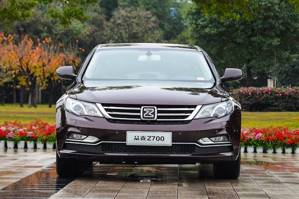 Zotye Z700 China January 2016. Picture courtesy db2car.com