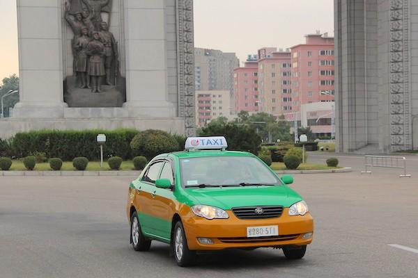 BYD F3 North Korea