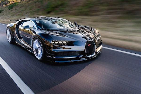 Bugatti Chiron Monaco 2016