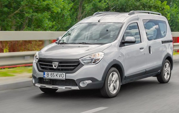 Dacia Dokker Bulgaria July 2016. Picture courtesy autoevolution.com