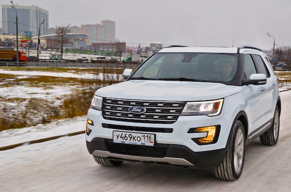 Ford Explorer Russia February 2016. Picture courtesy zr.ru