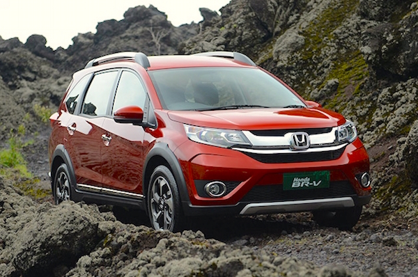Honda BR-V Indonesia February 2016