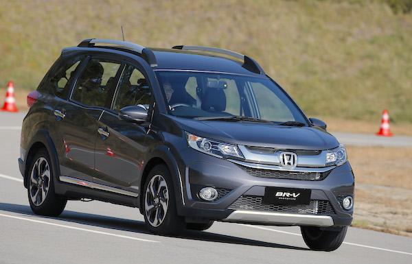 Honda BR-V Thailand February 2016