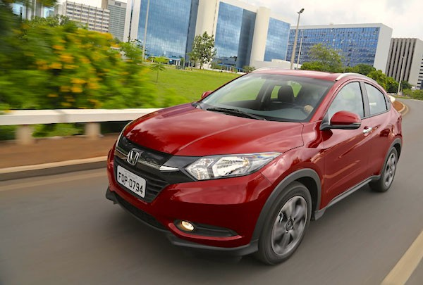 Honda HR-V Singapore June 2016. Picture courtesy carplace.uol.com.br