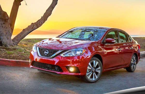 Nissan Sentra USA February 2016