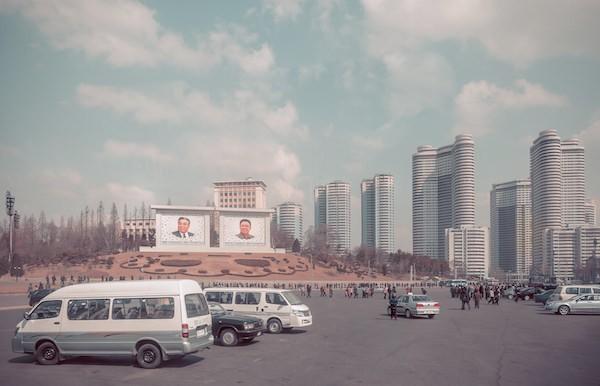 Pyeonghwa Samchunri in Pyongyang